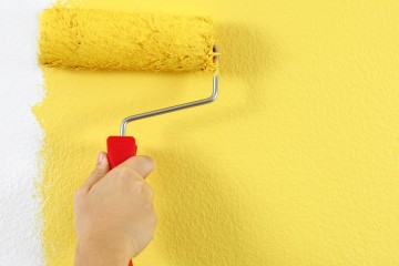 yellow-wall-paint
